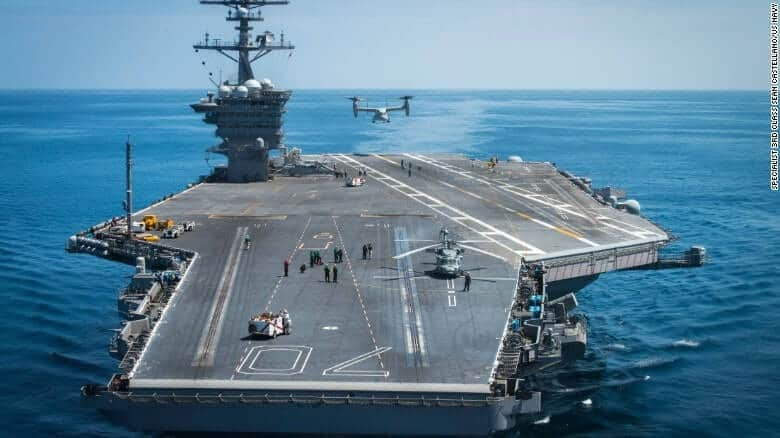 business carrier - Two US Carrier Strike Groups Close In On North Korea