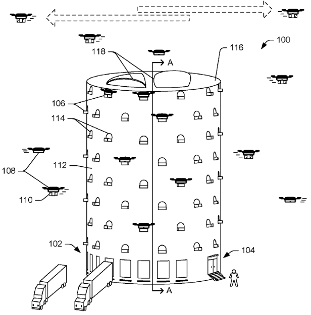 New Amazon Drone Patent – Yeah That's Just Crazy