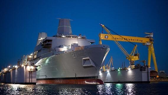 Huntington Ingalls Awarded $3 Billion Contract From Navy