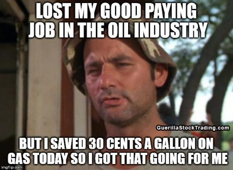 Gas prices meme