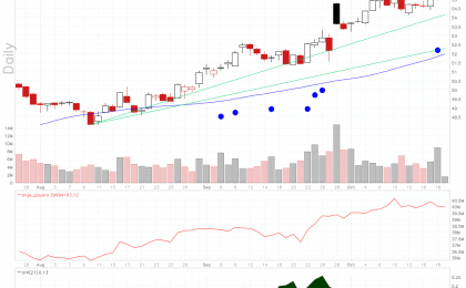 Abbott Laboratories stock is in a strong uptrend with rising large players volume.