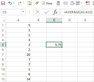 News frequency distribution spreadsheet with a list of days between press releases.